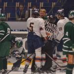 ... och kapten Dahlbom och hans mannar står upp för laget Foto: Robin Angle/fbkbloggen