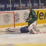 Inget mål dock, den här gången då Linus Söderström är med bra i Olofssons dragning. Foto: Robin Angle/fbkbloggen