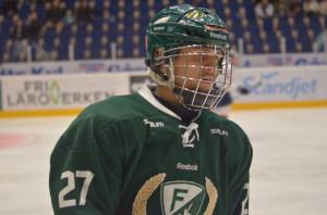 August Gunnarsson är tillbaka efter skadan. Målskytt direkt i återkomsten. Foto: Robin Angle/fbkbloggen