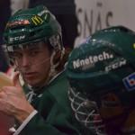 Fantastiskt kul att Oskar Niklasson kunde komma tillbaka i säsongens sista match! Riktigt tråkigt att han missat så lång period av sitt sista juniorår.  Foto: Robin Angle/fbkbloggen