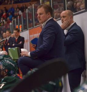 Leif Carlsson har gjort sitt i båset för den här gången, nu tar han över sportchefrollenQ Foto: Robin Angle/fbkbloggen