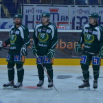 Milan Gulas, Ludwig Byström och Joakim Nygård. Ludwig Byström är en av spelarna som ni läsare önskade en intervju med, och den hittar ni separat här på bloggen. Foto: Joakim Angle/fbkbloggen