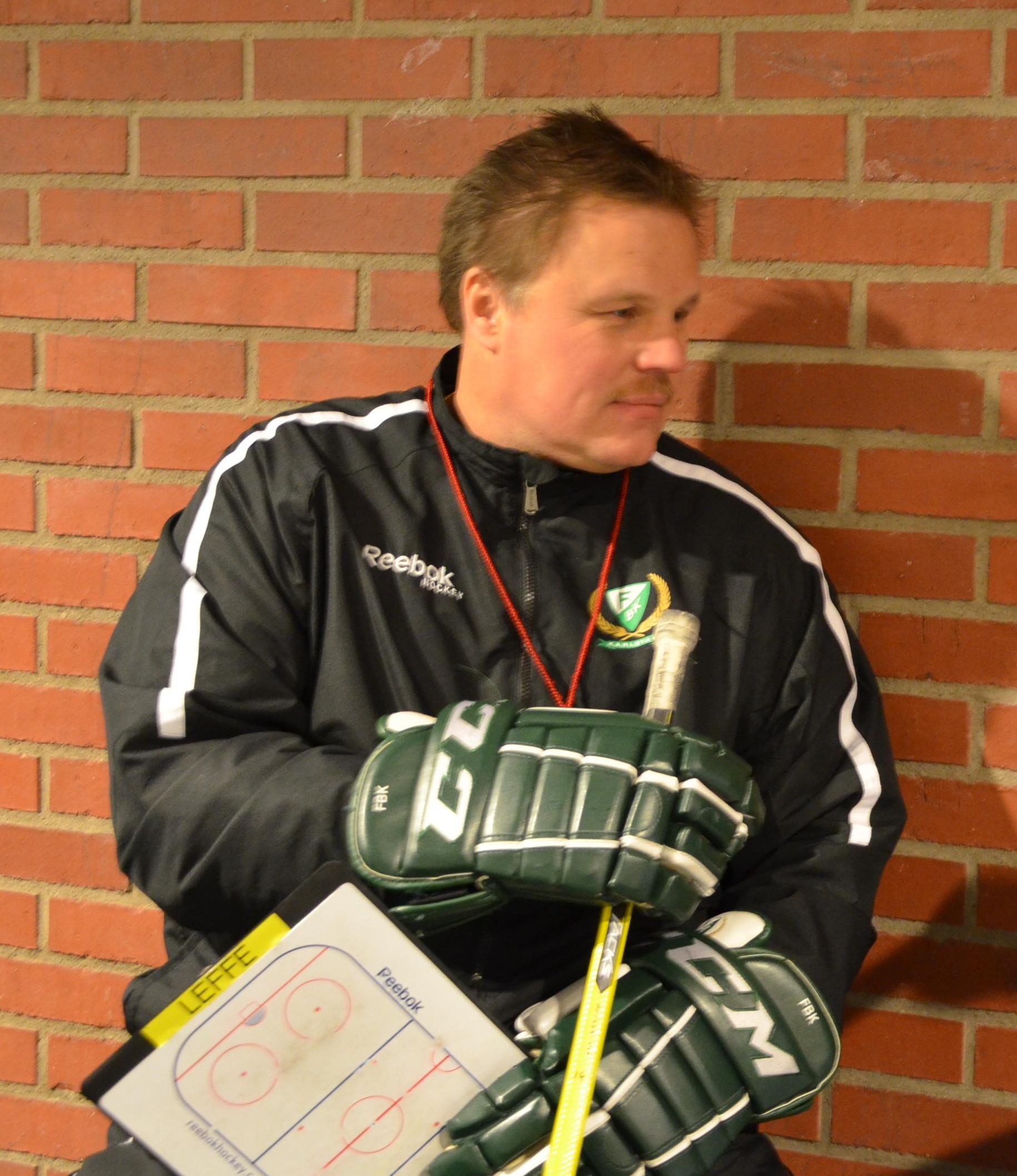 Leif Carlsson gör sitt sista slutspel som tränare. Foto: Joakim Angle/fbkbloggen