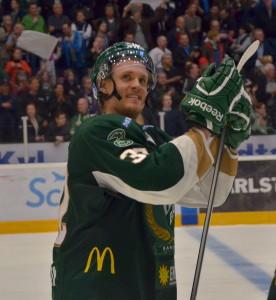 Magnus Nygren 12/4 2014. Men någon återkomst i Färjestadströjan blir det inte den här säsongen. Foto: Robin Angle/fbkbloggen