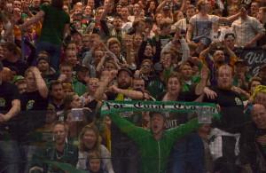 Carlsson är väldigt glad och tacksam över fansens engagemang Foto: Robin Angle/fbkbloggen