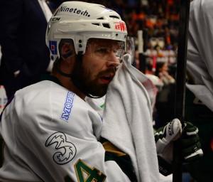 Milan Gulas var inte säker på om det var mål förrän han satt i båset och såg reprisen. Foto: Joakim Angle/fbkbloggen