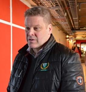 Thomas Fröberg efter söndagens finalförlust mot HV71 Foto: Joakim Angle/fbkbloggen