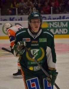 Joakim Nygård noterades för två assist i semifinal 6 Foto: Robin Angle/fbkbloggen