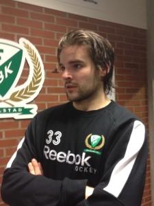 Linus Fröberg har kontrakt över nästa säsong. I år utlånad till Södertälje Foto: Robin Angle/fbkbloggen