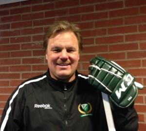 Leif Carlsson är tillbaka på isen. Foto: Marie Angle/fbkbloggen