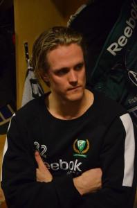 Magnus Nygren är förste spelare att bli intervjuad i vår webb-satsning Foto: Robin Angle/fbkbloggen