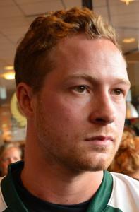 Skönt att Martin Røymark  blir kvar! Foto: Robin Angle/fbkbloggen