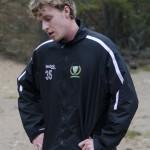 PW försäsongstränar med resten av laget: här i Sörmons grusgrop. Nya målvaktskollegan Justin Pogge tränar dock på hemmaplan hemma i Nordamerika och ansluter först om lite mer än en månad. Foto: Robin Angle/fbkbloggen
