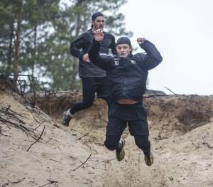 Johan Olofsson är lika snabb och explosiv utan grillorna! Foto: Robin Angle/fbkbloggen