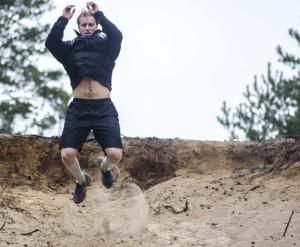 Daniel Gunnarsson i grusgropen Foto: Robin Angle/fbkbloggen