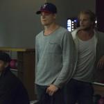 Olofsson, Byström och Rohdin väntar spänt på att vinnarna ska offentliggöras Foto: Marie Angle/fbkbloggen