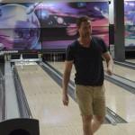 Lagets bowlingkung är norsk - Martin Röymark började storslaget och vann totalen med sin 168 poäng. Tvåa blev Anton Grundel på 160. Foto: Robin Angle/fbkbloggen