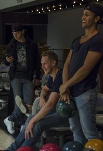 Kylington med Olofsson och Åslund under den avslutande bowlingen Foto: Marie Angle/fbkbloggen