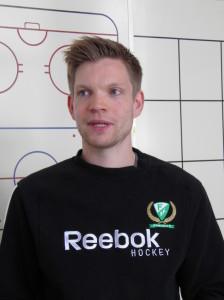 Möt Färjestads nye målvaktstränare, Jonathan Höjd! Foto: Marie Angle/fbkbloggen