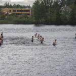 Intervaller. Uthållighet kombinerat med styrka i och med vattnets motstånd. Foto: Robin Angle/fbkbloggen