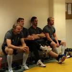 Tungviktarna: Gunnarsson, Hedman, Arell och Rohdin