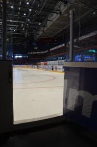 Fem dagar till nedsläpp i säsongens första hemmamatch,  mot ZSC Lions Foto: Marie Angle/fbkbloggen