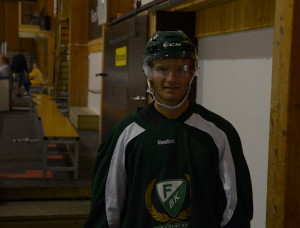 Johan Olofsson, tillbaka i sin barndoms Arvika och Sparbanken Arena Foto: Joakim Angle/fkbloggen