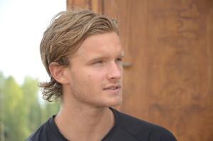 A-lagskontraktet är påskrivet, nu är Johan Olofssons primära mål att ta en mer fast plats i årets trupp. Foto: Joakim Angle/fbkbloggen