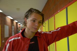 Anton Karlsson gjorde en bra match