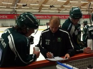Dags för lagets första riktiga test... Foto: Marie Angle/fbkbloggen