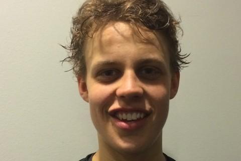Joel Eriksson Ek stod för ett läckert mål i SHL-premiären! Något säger mig att vi kommer att få se fler snygga mål från hans klubba i vinter.  Foto: Marie Angle/fbkbloggen