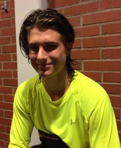 Ett mål och en assist av Felix Sandholt i dagens match mot IFK Ore Foto: Marie Angle/fbkbloggen