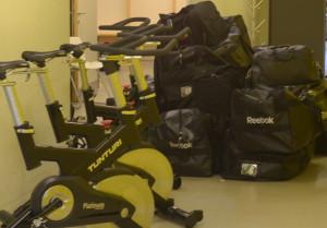 Packat och klart inför avfärd! Foto: Joakim Angle/fbkbloggen
