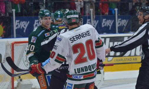 Lalonde och Lundqvist verkar trivas tillsammans...