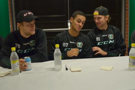 Grundel, Kylington och Gunnarsson har pennorna redo!