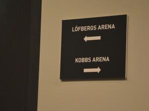 Idag tränar A-laget i Kobbs Arena då Löfbergs Arena förbereds inför nästa veckas premiärmatch Foto: Marie Angle/fbkbloggen