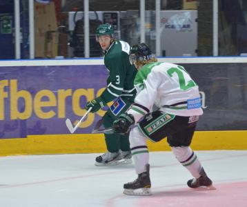 Lagets senaste nytillskott - backen Jesper Alasaari från BIK Karlskoga