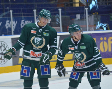 August Gunnarsson och Jesper Nordin