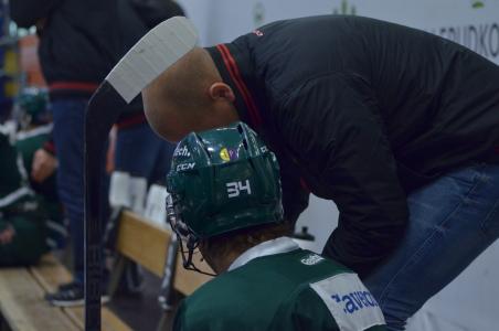 Jesper Nordin coachas i båset