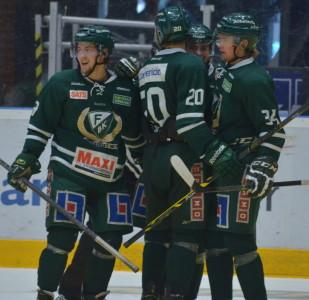 Joel Eriksson Ek gjorde två av målen. Foto: Robin Angle/fbkbloggen