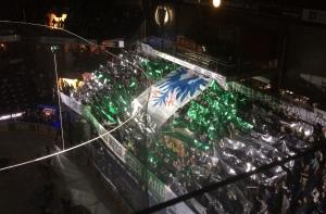 Underbart tifo med tema Värmland från A-lagets hemmapremiär förra året.  Foto: Marie Angle/fbkbloggen