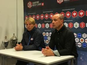 Clas Eriksson var inte nöjd med lagets insats i kväll Foto: Marie Angle/fbkbloggen