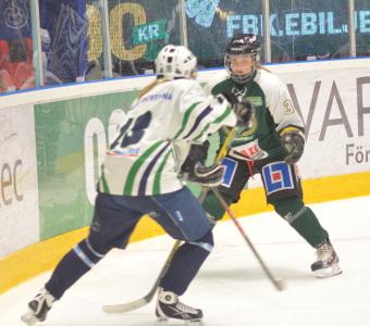 Propagandahockey med två lag som bjöd upp!