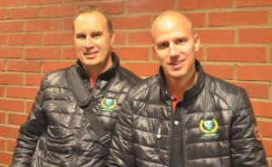 Kecke Wilhelmsson och Anton Karlsson  Foto: Joakim Angle