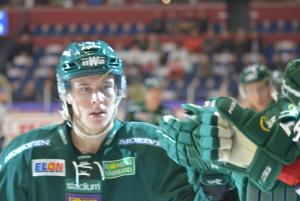 Joakim Nygård, som avgjorde söndagens bortamatch mot DIF i förlängningen, är ännu en spelare som kommer via klubbens juniorverksamhet. Foto: Joakim Angle/fbkbloggen