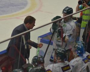 Carlsson i båset Foto: Joakim Angle/fbkbloggen