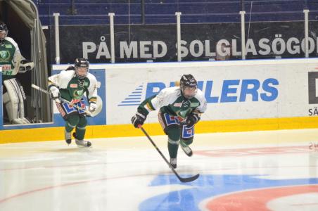 Spelarna gör entré inför helgens första match, den mot största konkurrenten Sandviken!