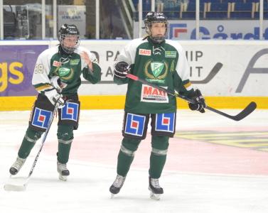 Johanna Johansson och Tilda Antonsson