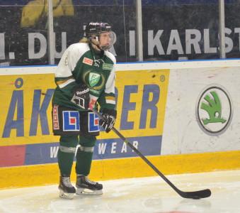 Tilda Antonsson är äntligen tillbaka efter höstens skadetrassel. Foto: Joakim Angle/fbkbloggen
