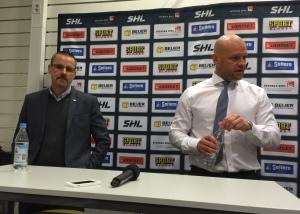 Andreas Johansson är en färgstark figur. Helt klart en favoritprofil i ligan med sina målande och ärliga kommentarer! Foto: Marie Angle/fbkbloggen